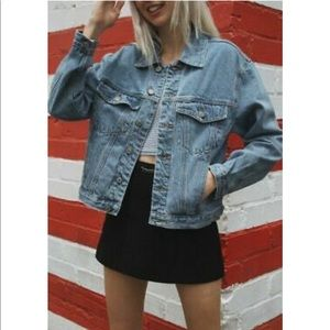 Light wash denim jacket *Brandy Melville*
